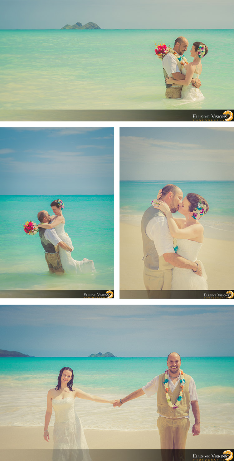 Hawaii Beach Wedding Photography by Elusive Visions2