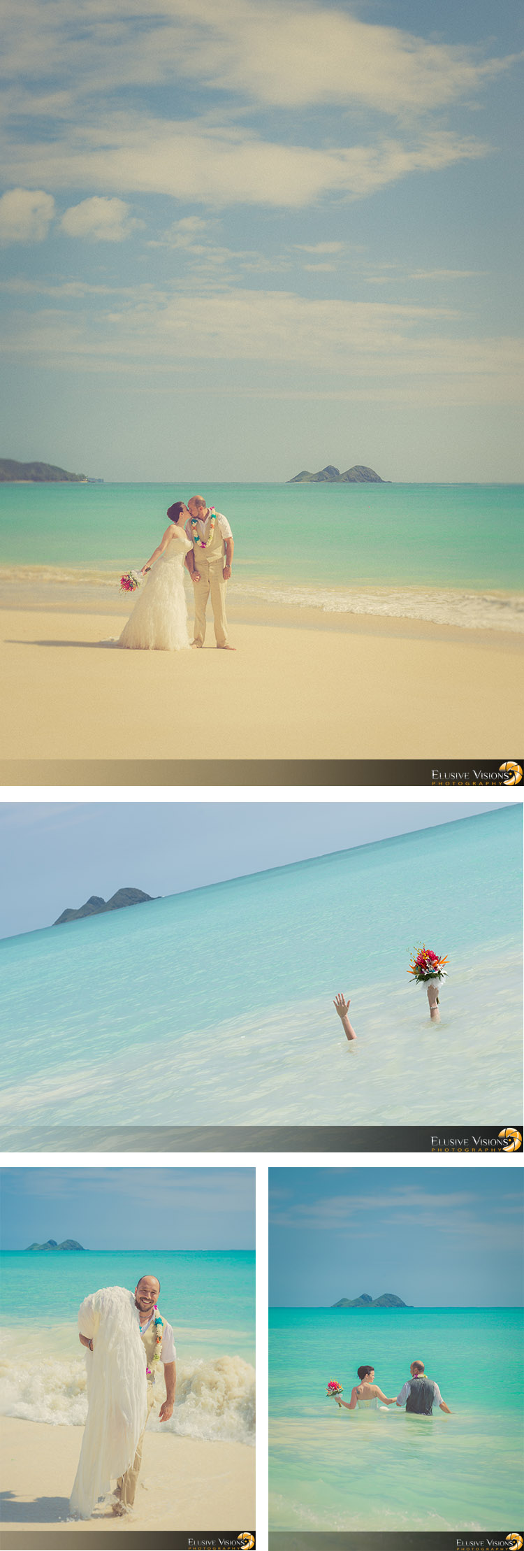 Hawaii Beach Wedding Photography by Elusive Visions3