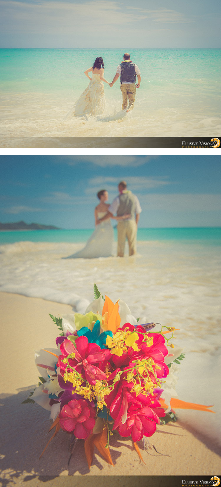 Hawaii Beach Wedding Photography by Elusive Visions4