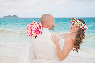 ERICA & JAY HAWAII BEACH WEDDING