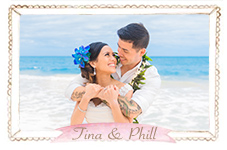 Christina & Phillip Hawaii Beach Wedding Photos Avatar