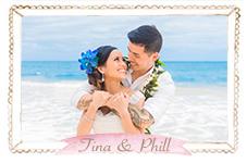 Christina & Phillip Hawaii Beach Wedding Photos Avatar